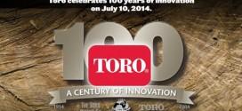 100 años TORO COMPANY