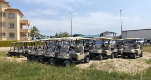 Riversa entrega una flota de 36 vehículos eléctricos Precedent en Oliva Nova Golf
