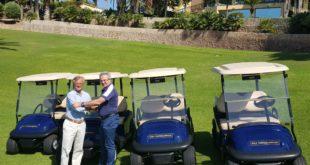 Riversa, entrega a Golf Torrequebrada 60 buggies Club Car Precedent