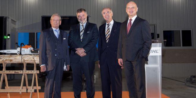 Stihl inaugura sus nuevas y ampliadas instalaciones logísticas