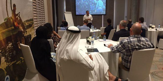 John Deere y CMAE organizan un programa de Formación para Gerentes de Clubes de Golf  en Oriente Medio