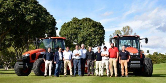 Kubota, la apuesta segura por las empresas líderes en tecnificación de campos de golf.